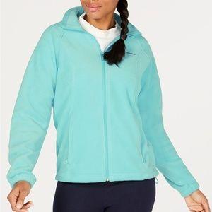 Columbia Light Blue Fleece Jacket